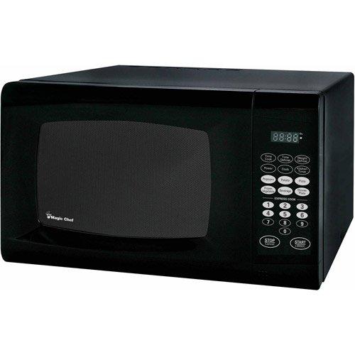 Magic Chef 0.9 cu.ft. 900W Microwave, Black