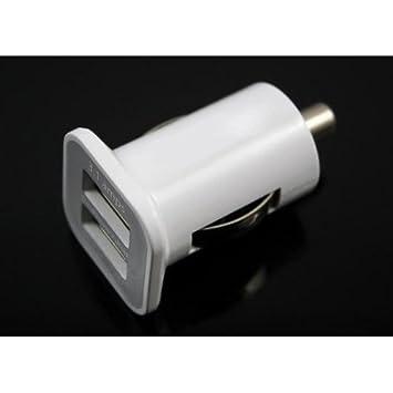 SODIAL(R) 3.1A Dual USB Adaptador de Cargador de Coche para ...