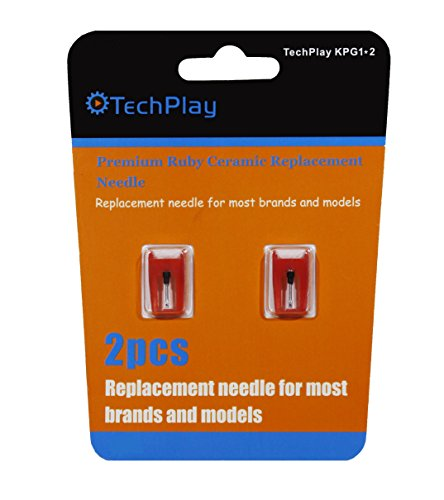 TechPlay pack of 2, Roby needle for (16 Cartridge Pack)