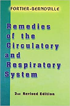 Remedies of Circulatory and Respiratory System
