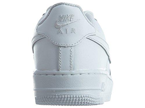 Nike Air Force 1 (Gs), Zapatillas de Baloncesto para Niños Negro / Gris- (Black / Sail-Wolf Grey)