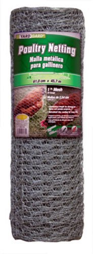 Mat Midwest 308432A 48-Inch-by-150-Foot 1-Inch Mesh 20-Gauge Hexagonal Poultry Netting by Mat Midwest