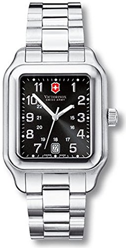 Victorinox Swiss Army Men's Officer's 1884 241067 Black Stainless-Steel Analog Quartz Watch