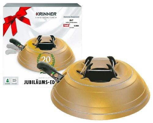 Krinner 94004 Christbaumständer Vario Classic Jubiläumsmodell in Sonderlackierung gold