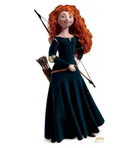 Merida - Disney Pixar's Brave - Advanced Graphics Life Size Cardboard (Life Size Princess Cutouts)