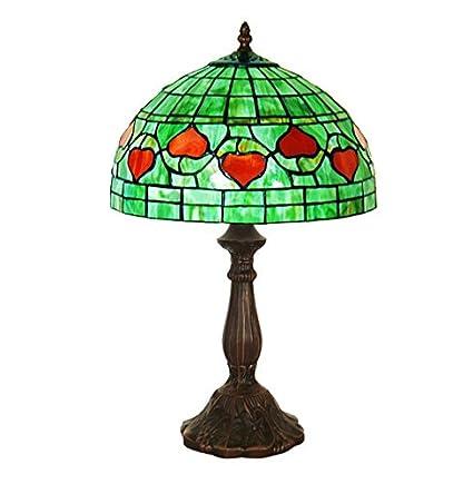 Lámpara de escritorio de estudio pastoral europea lámpara de ...