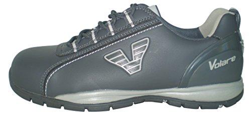 Illy Volare gris-Chaussures de sécurité couleur gris-Taille 45