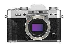 Fujifilm X-T30 Mirrorless Digital Camera, Silver (Body Only)