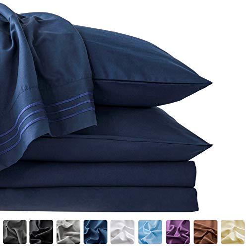 LIANLAM Queen Bed Sheets Set - Super