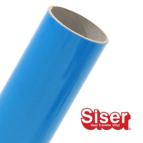 Siser EasyWeed 11.8 x 5yd Roll (Fluorescent Blue)