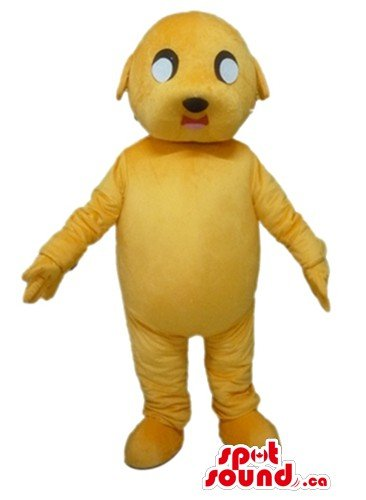 Jake Costume The Dog (Yellow Jake the Dog SpotSound Mascot US costume cartoon character fancy)
