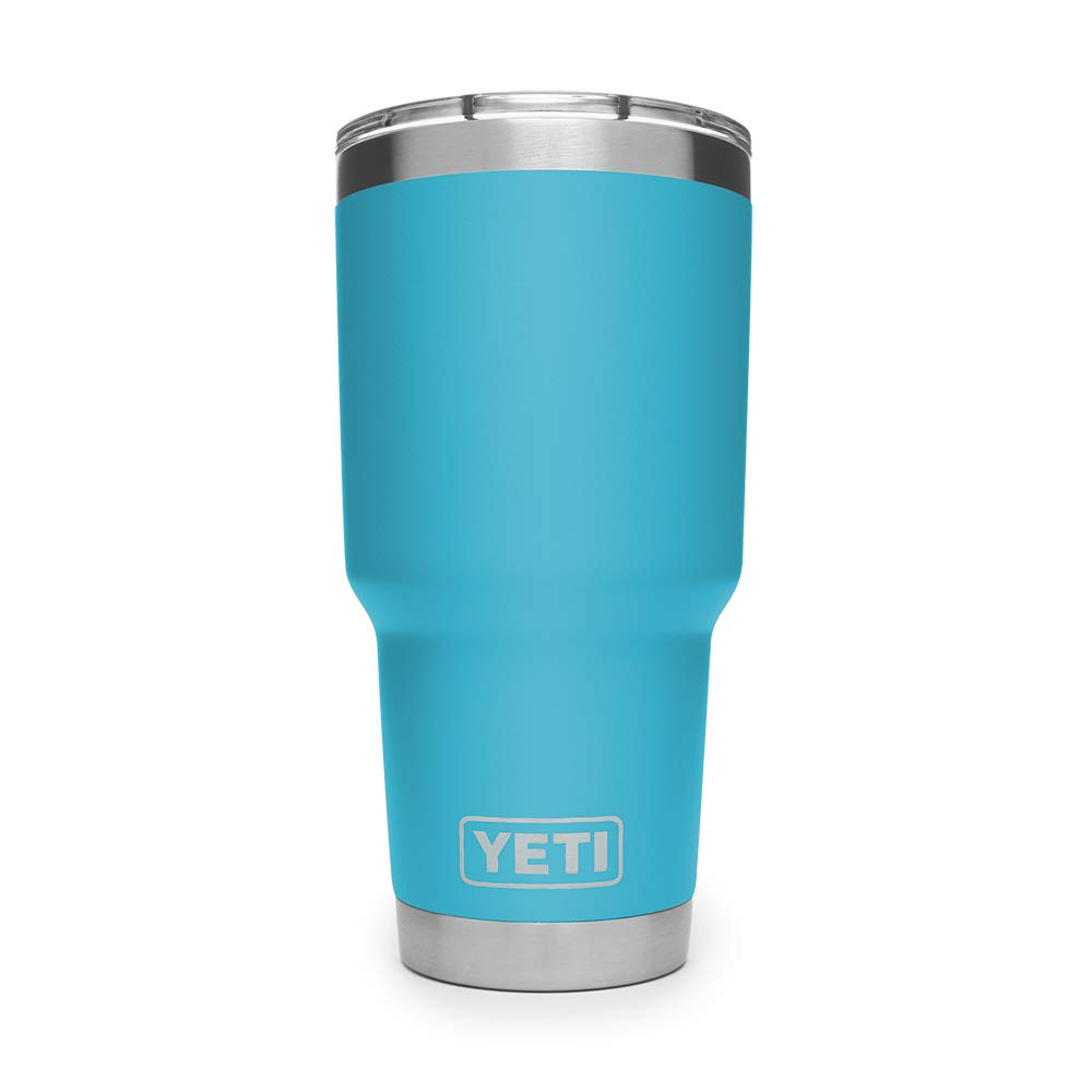 YETI Rambler 30 oz Stainless Steel Vacuum Insulated Tumbler w/MagSlider Lid, Reef Blue by YETI (Image #2)