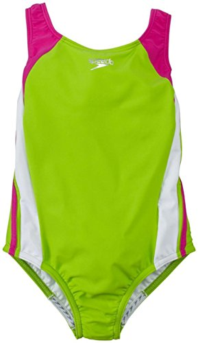 speedo-7142076-girls-infinity-splice-xtra-life-lycra-citrus-green-size-16