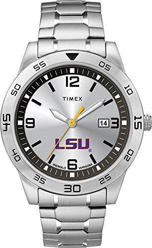 (Timex Men's LSU Tigers Louisiana State Watch Citation Steel Watch)