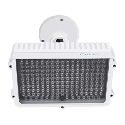 CMVision IR130-830NM - 198 LED Indoor/Outdoor Long Range 150 feet IR Illuminator with Free 3A 12VDC Power Adaptor (Special for photobiomodulation, Light Therapy Application) by CMVision (Image #1)