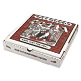 BOXPZCORE12 Takeout Container, 12in Pizza, White, 12w x 12d x 1 3/4h