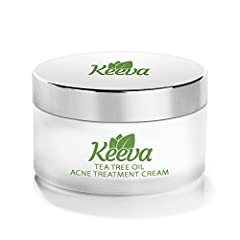 Tired of Acne Blemishes, Spots, Scars or Cystic Acne? Want a Solution that actually is proven to Work? Keeva was created with sensitive skin in mind!  Keeva is a natural and organic acne treatment cream that works on all skin type and acne types. If ...