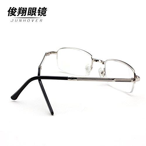 presbyopic lunettes marque plein cadre sont pliés en spectacle multifonctionnelle de résine de femmes - hommes. enduits de résine 350 degrés