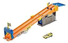 Hot Wheels Rooftop Race Garage Playset