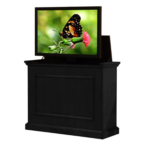 """Touchstone Elevate Motorized TV Lift Cabinet – Rich Black Finish – For Flat Screen TVs up to 50"""" - Lift Cabinet"""
