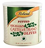 Roland: Pitted Castelvetrano Olives 90 Oz (4 Pack)