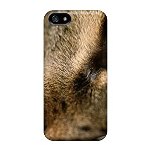 Hkeller Snap On Hard Case Cover Ojo Gato Protector For Iphone 5/5s