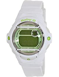 Casio Women's Baby-G BG169R-7C Green Resin Quartz Watch