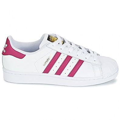 Cuir 30 Superstar Rose Tissu Adidas Blanc Ba8382 sxthQrdC