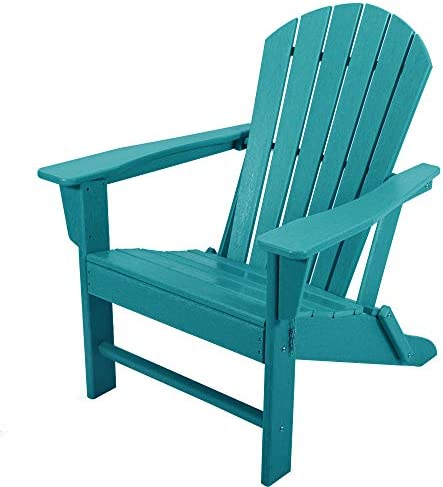 ASTEROUTDOOR Folding Plastic Adirondack Classic Outdoor Composite Chair Design-Easy Maintenance Weather Resistant