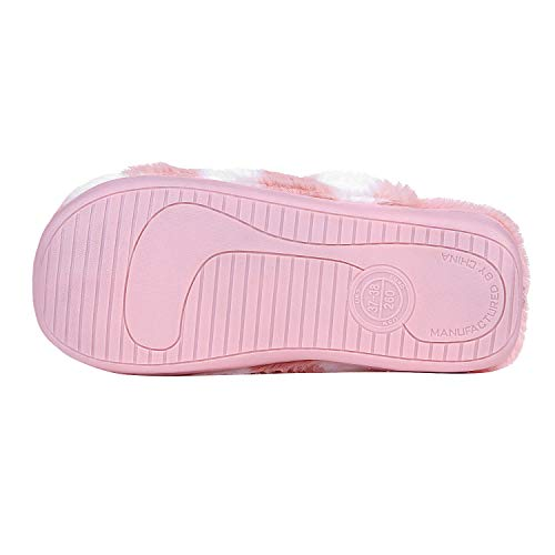 Memory Bowknot Slippers Cute Fluffy Slippers Shoes Slippers Cozy Fuzzy Soft Winter Girl Pink Foam Home House Women xYnzvwqETU