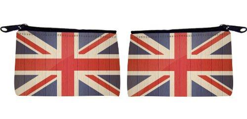 Rikki Knight Great Britain Flag On Distressed Wood Design Sc