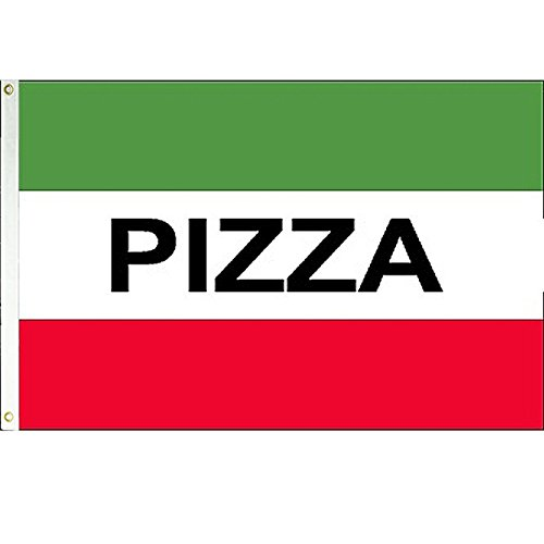 Pizza 3x5 Polyester Flag