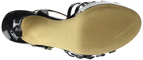 Guess Patent Cinturino Scarpe Kamali Donna Nero Pu T Col Tacco Con A wTxfSwqrR