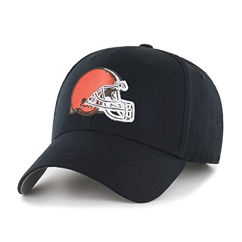 NFL Cleveland Browns OTS All-Star MVP Adjustable Hat, Black, One Size