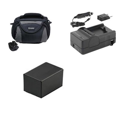 Canon Vixia HF R400 Camcorder Accessory Kit includes: SDC-26