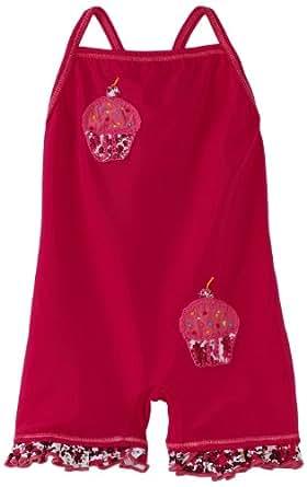 Submarine Baby Girls' Cupcake Swimwear, Mini Print, 12 Months