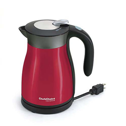 Chef'sChoice 6920002 International Keep Hot Thermal Electric Kettle Model, 1.5 L, Red by Chef'sChoice