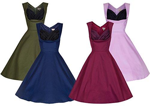 Lindy-Bop-Ophelia-Vintage-1950s-Prom-Swing-Dress