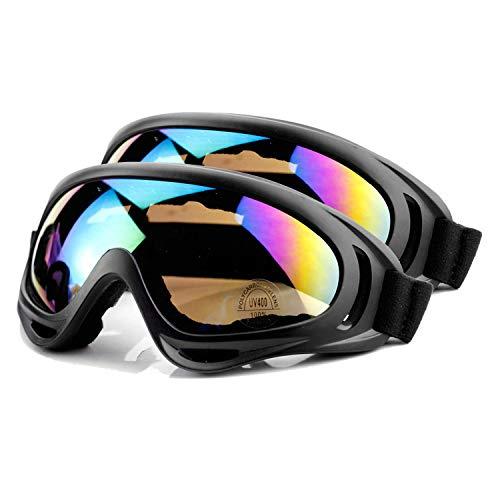 AYORI 스키 고글 스노우 고글 안경 대응 UV400카드 가볍 내충격 방진 방풍 등산 오토바이 아웃도어 적용 남녀 겸용