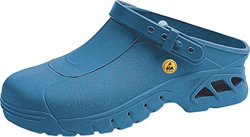 Abeba , Herren Sicherheitsschuhe blau blau 43