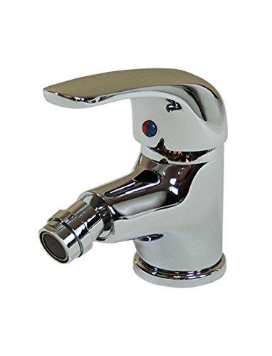 Miscelatore rubinetto monoforo per bidet , New Swan, colore cromo Arredobagnoecucine