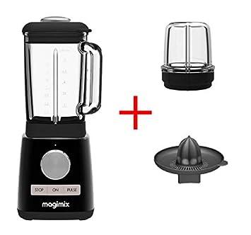 Magimix Blender Batidora Negro + Mini Bol + Exprimidor 11610ea ...