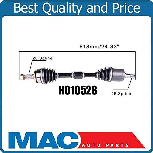 Mac Auto Parts 157835 100/% New Complete Left Automatic Transmission Axle Fits For Honda Civic 1.8L 06-15