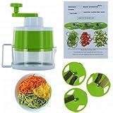 kitchen active spiralizer - Vegetable & Fruit Spiralizer to Make Healthy Low-Carb Noodles