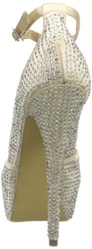 Steve Madden DEENY-R 01050651 - Zapatos de tacón para mujer, color plateado, talla 36 Plateado (Silber (Pewter Multi))