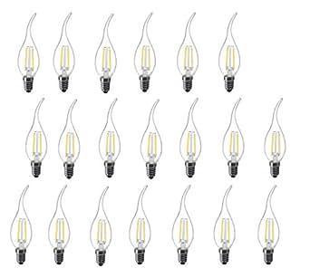 Amazon.com: l-hm C35 Llama Punta Luz LED foco de recambio ...
