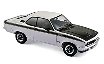 Norev 183634 1975 Opel Manta GT/E White 1/18 Diecast Model Car