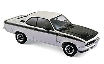 Norev 183634 1975 Opel Manta GT/E White 1/18 Diecast Model Car