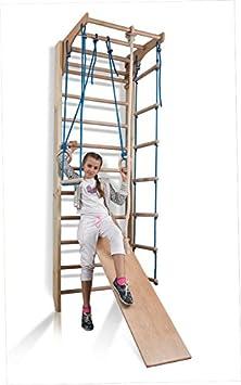 Espaldera de Fitness Kombi-3-240 Espaldera para Gimnasio Escalera Sueca Niños de Juegos: Amazon.es: Bebé