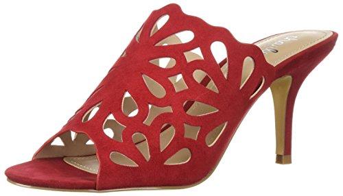 Charles by Charles David Women's Nicki Slide Sandal, Scarlet, 9 M US